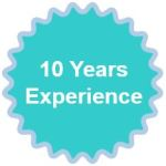 10 years experience 2